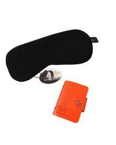 Mulberry Sleep Mask and Credit Card Holder - Friends of Meditation