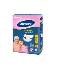 Magna Adult Diapers (Large) - Dignity