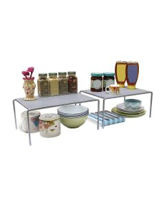 Metal Counter Shelf Organizer (Silver) - Callas