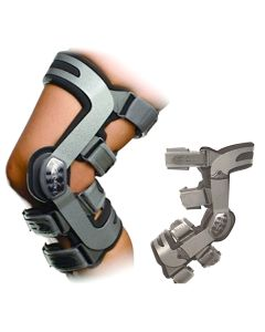 Adjuster Knee Brace For Left Leg - Donjoy