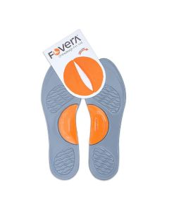 Arch Support Gel Insole Pair - Ideal for Flat Feet and Foot Pain - Fovera