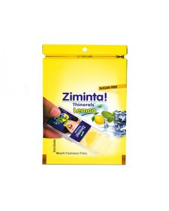 Sugar Free Lemon Flavoured Mouth Freshener (30 Strips) - Ziminta