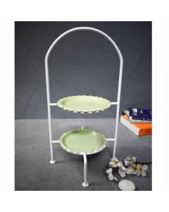 Green Cake Stand - Color Palette