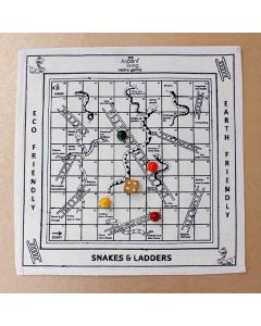 Snakes and Ladder Board Game - Ancient Living