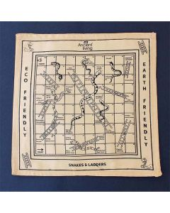 Snakes and Ladder Board Game (Crafted in Raw Silk) - Ancient Living