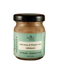 Organic Anti Acne and Pimple Care Face Pack (20 gm x 2) - Ancient Living
