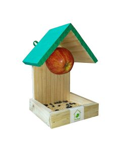 Wooden Fruit and Seed Bird Feeder (Pack of 2) - Pet Nest