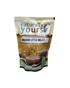 Organic Little Millet (3 x 500 gm) - Naturally Yours