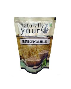 Organic Foxtail Millet (3 x 500 gm) - Naturally Yours