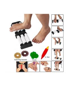 Spiked Acupressure Massage Combo With Reflexology Chart - Perfect Magnets