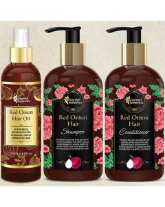 Shampoo + Conditioner and Hair Oil (300 ml + 300 ml and 200 ml) - Morpheme Remedies
