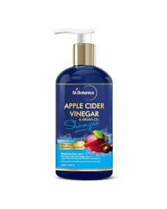 Apple Cider Vinegar and Organic Argan Oil Hair Shampoo (300 ml) - St Botanica