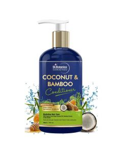 Coconut and Bamboo Hair Conditioner (300 ml) - St Botanica