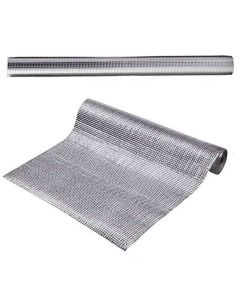 Aluminium Plated Shelf Liner for Kitchen Cupboard and Cabinets - House of Quirk