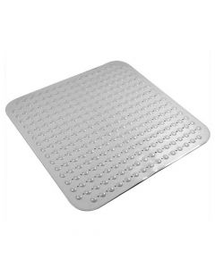 Experia Anti-Slip Bath Mat with Suction Cup and Accu Pebbles (80 x 80 cm) - Lifekrafts