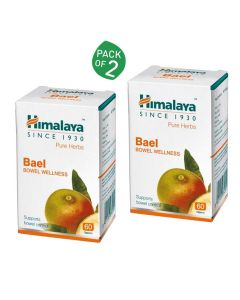 Bael For Bowel Wellness (Pack of 2 - 60 tablets each) - Himalaya