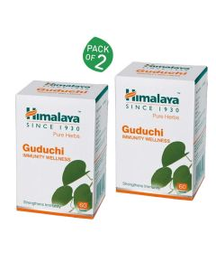 Guduchi For Immunity Wellness (Pack of 2 - 60 tablets each) - Himalaya