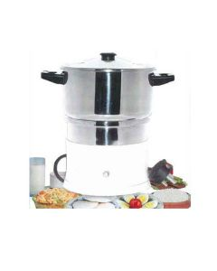 Electric Steam Cooker MC 1 With Cooking Vessel and Egg Tray - Maestro