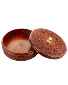 Wooden Dry Fruit Box - Woodenclave