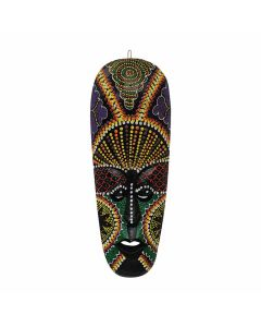 Wooden Decorative African Hand Carved Mask - Woodenclave