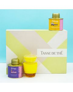Goodnight Love Gift Box (Pack of 2 assorted Teas and 1 Tea Infuser) - Tasse de Thé