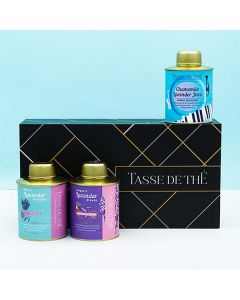 Stress Reliever Gift Box (Pack of 3 assorted Teas) - Tasse de Thé