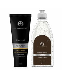 Face First Combo (Sanitizer And Face Wash) - The Man Company