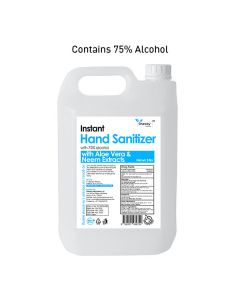 Instant Hand Sanitizer with 75% Alcohol Content (5 Ltr) - Oneway Happiness