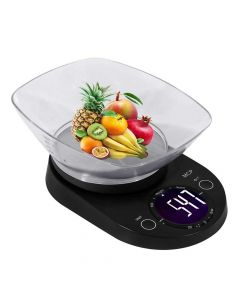Digital Weighing Machine for Kitchen 5kgs with Bowl  - MCP