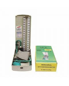 Deluxe Blood Pressure Monitor with Stethoscope - Sphygmomanometer - MCP