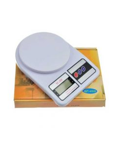 SF400 Electronic Kitchen Scale Battery Operated (White) - MCP