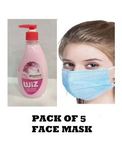 Combo of Hand Wash & Face Mask