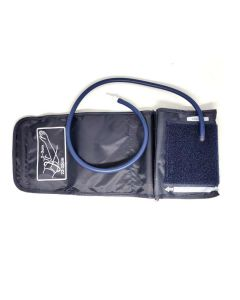 Single Tube BP Monitor Cuff (Dark Blue) - Sahyog Wellness