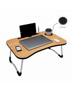 Multi-Purpose Portable Wooden Laptop Table (Assorted Color)