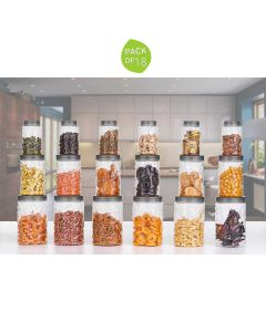 New Checkers Air Tight Containers (Pack of 18) - Home Turf