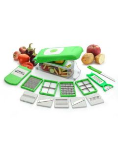 13 in 1 Vegetable and Fruit Slicer Grater and Chopper - Home Turf