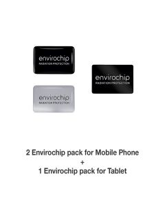Value Pack Of Radiation Protection Chips For Mobile And Tablet - Envirochip