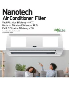 Nanotech Split (Wall-mounted) AC Filter (Pack of 4) - Nirvana Being