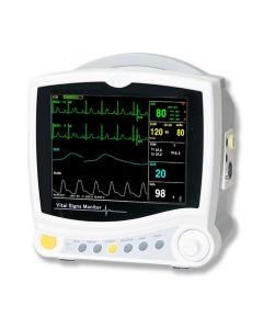 Contec Patient Monitor CMS6800 - Portable Multi-Parameter 8 Inch Vital Sign Patient Monitor - Carent