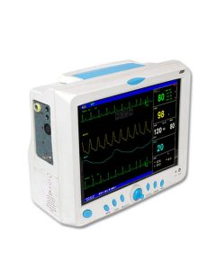 Contec Patient Monitor CMS9000 - Portable Multi-Parameter 12.1 Inch Vital Sign Patient Monitor - Carent