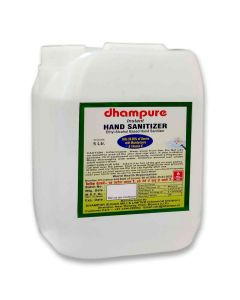 Instant Hand Sanitizer - 80% Ethyl Alcohol (5 Litres) - Dhampure