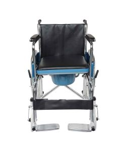 Wheelchair With Commode Seat (Sc8005A) - Entros