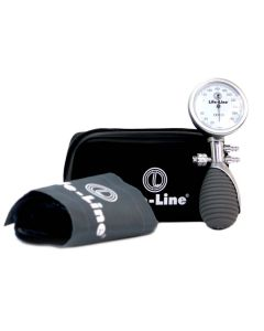 Palm Type (Dial Deluxe) Aneroid Blood Pressure Monitor - Life-Line