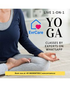 Online Yoga By Experts - EvrCare