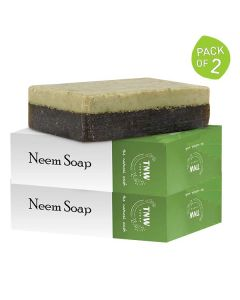 Neem Soap (Pack of 2 - 100 gm each) - TNW The Natural Wash