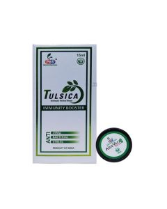 Tulsica Aromatic Herbal Drop 15 ml with Free Aloe Vera 10 gm Gel - PHS