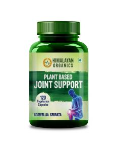 Plant Based Joint Support Supplement (120 Veg Capsules) - Himalayan Organics