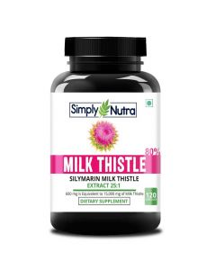 Milk Thistle Supplement (120 Capsules) - Simply Nutra