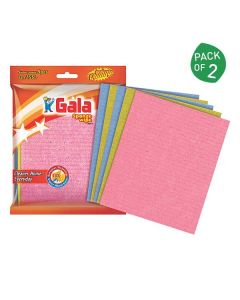 Sponge Wipes (Pack of 2 - 5 pieces each) - Gala