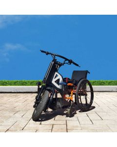 Wheelchair with Motorized Outdoor Mobility Independent Attachment - NeoFly & NeoBolt